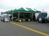 IN Racing awning set up