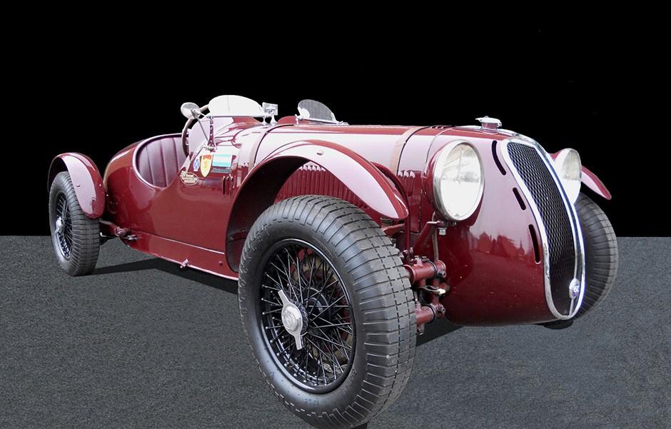 Alfa Romeo 6C Front