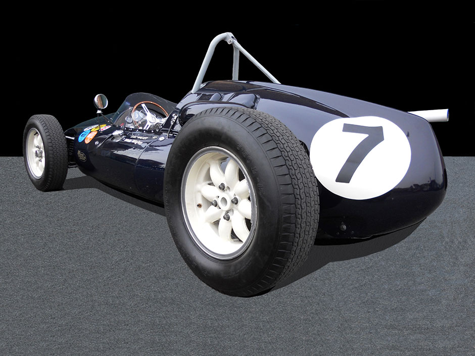 Cooper T51 Rear
