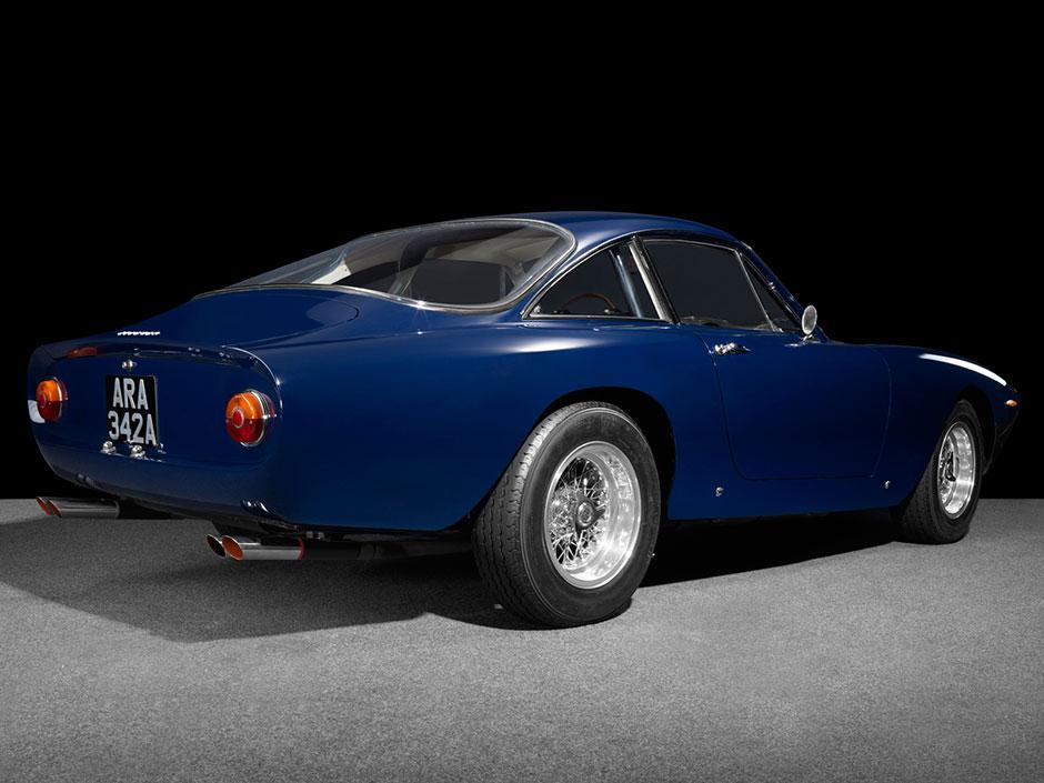 Ferrari Lusso Rear