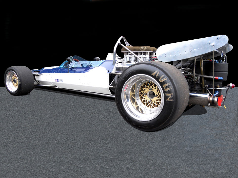 Surtees TS8 Rear