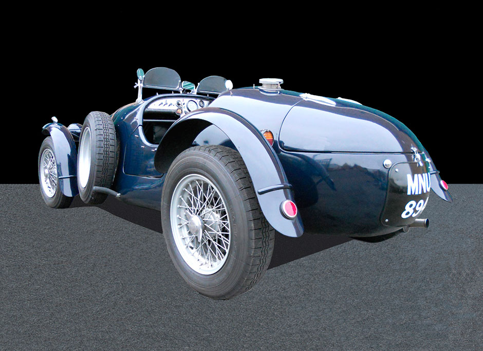 Frazer Nash Le-Mans Rep Rear