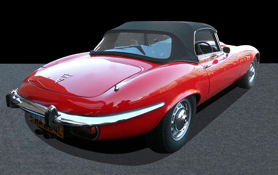 Jaguar E Type Rear