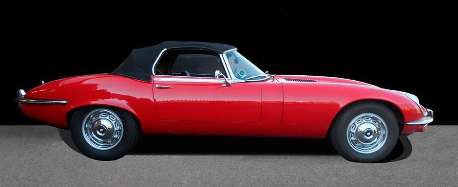 Jaguar E Type Side