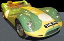 Lister Knobbly Jaguar Front