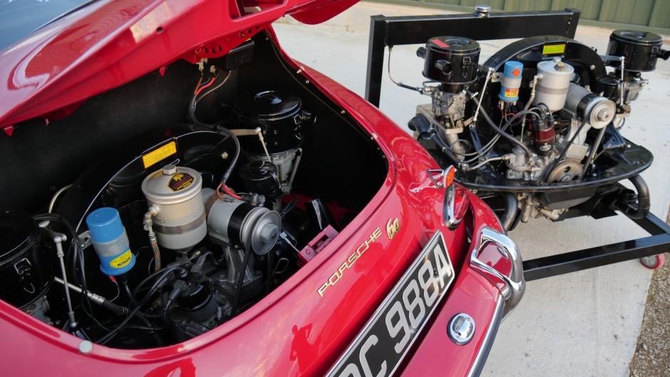 Porsche 356 B engines